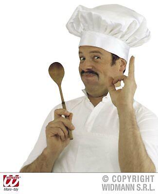 Kochmütze für Erwachsene, weiß - Chefkoch Mütze Koch Hut Küchenchef