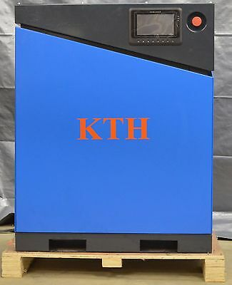 New Kth 20hp Vfd Direct Drive Screw Air Compressor Air Dryer And 120gal Tank