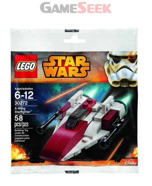 LEGO STAR WARS  A-WING STARFIGHTER SET (IN PLASTIC BAG) (30272) - CONSTRUCTION