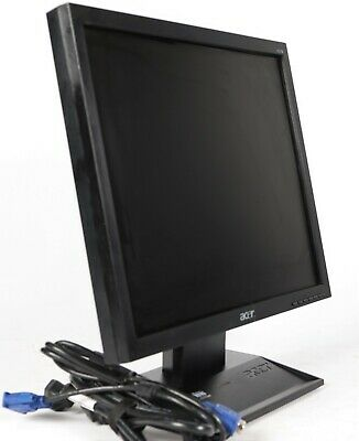 "Acer V173 b 17"" 1280x1024 LCD Monitor with Stand, VGA and Power Cable"