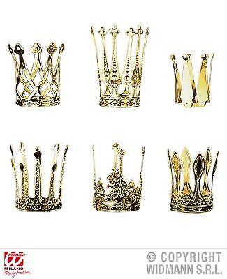 Krone gold Krönchen goldfarben Prinzessin Froschkönig Königin
