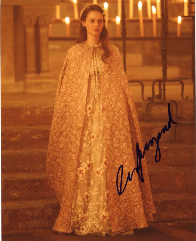 "Clara Rugaard ""Still Star-Crossed"" AUTOGRAPH Signed 8x10 Photo ACOA"