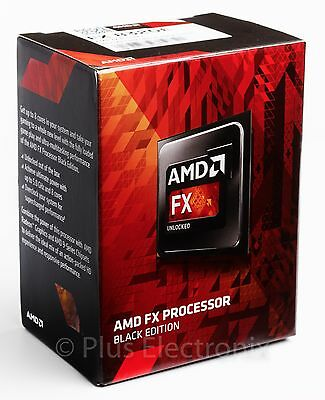 AMD FX-8320E 4GHz 8-Core Black Edition AM3+ Processor FD832EWMHKBOX - BRAND NEW
