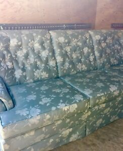 *Reduced* Sklar Peppler couch & 2 matching clean chairs