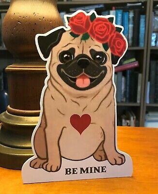Fawn Pug Valentine's 7in Decor ](Pug Decor)