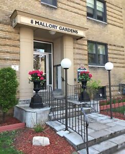 1 & 8 Mallory Gardens - 1 Bedroom Apartment for Rent
