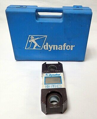 Tractel Dynafor Llx Max 5t Lcd For Checking Loads And Measuring Tensile Forces