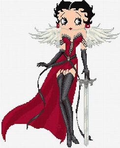 Betty Boop Design 6 Cross Stitch Kit 12