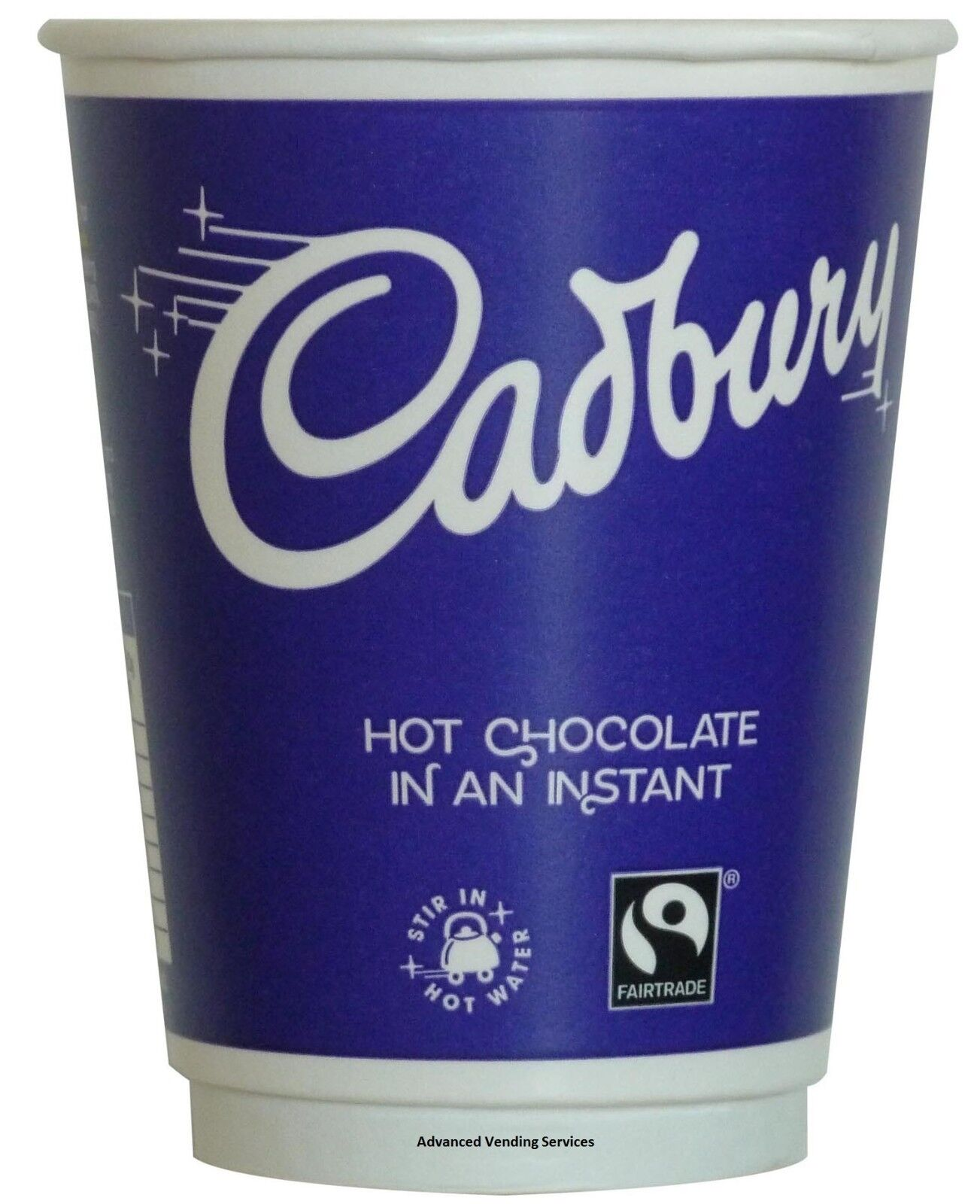 Details About Cadbury Hot Chocolate Drink 2go 12oz Fresh Foil Seal Incup Smooth Creamy X 150