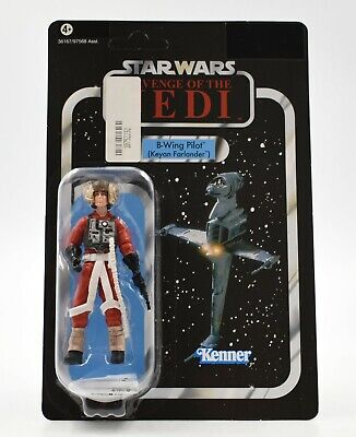 Star Wars The Vintage Collection - B-Wing Pilot (Keyan Farlander) Action Figure