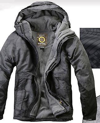 Southplay Mens Winter Waterproof Ski-Snowboard Jacket _(Size-   M)