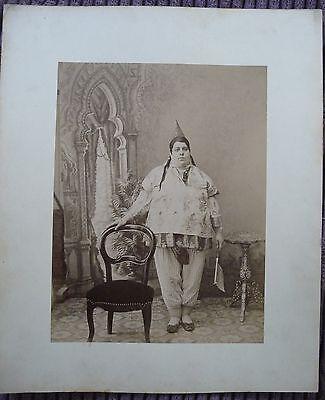 Albumin J.A. Garrigues um 1880 Juden Frau  (30)