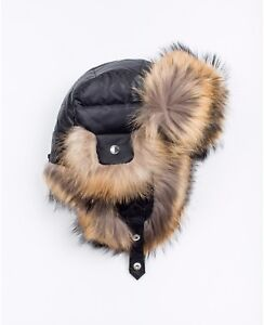 RUDSAK fur and down hat BRAND NEW with tags jacket also listed
