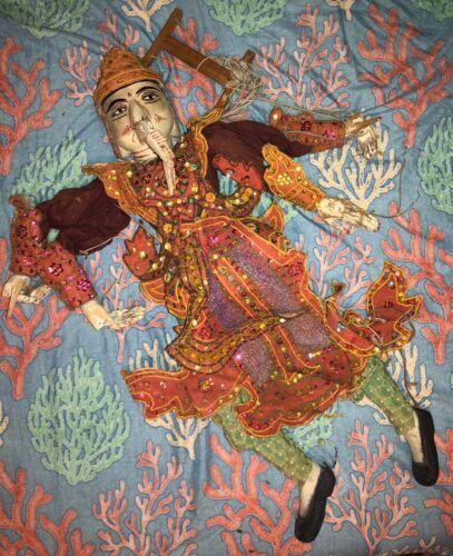 Antique Street Puppet Asia/India