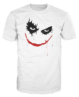Joker Halloween Comic (Joker Face Funny Batman Villain Joke Prank Halloween Unisex)