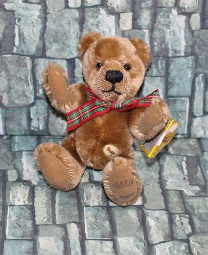 "Sunkid Original Collectible German Jointed Teddy Bear Lorsch 6"" Tall"