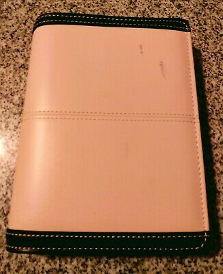 Franklin Covey 365 Organizer Undated Monthly Weekly Compact Pink Zipper Planner