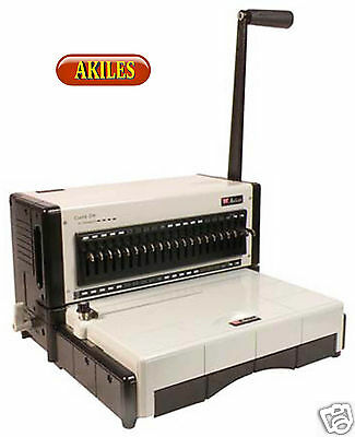 Akiles Flexipunch-m Paper Punch With Choice Of Die New 12-inch