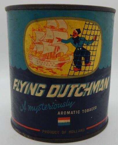 Flying Dutchman 7 Ounce Tobacco Tin Circa 1950