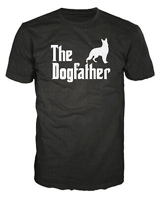 The Dogfather Funny Dog Owner Pet Godfather Dad Father Gift Present T-shirt