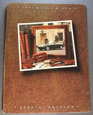 1991 Mazda Miata Special Edition Sales Brochure Folder Excellent Original 91