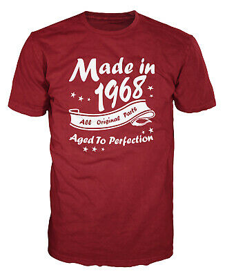 Made In 1968 All Original Parts Funny Birthday Anniversary Party Gift T-shirt - Birthday Part