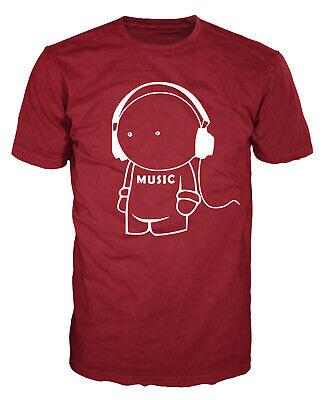- Music Man Hipster Funny Stickman DJ Producer Beats Festival Club Unisex T-shirt