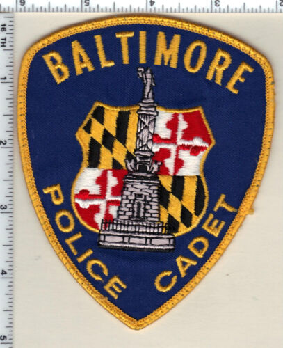 Baltimore Police (Maryland) Cadet - uniform take-off patch from 1980