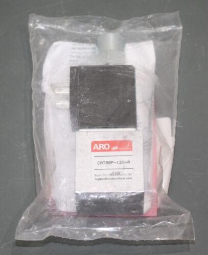 "ARO Air Control Valve Solenoid CAT88P-120-A, 1/4"", 120 VAC, 3 Way / 2 Position"