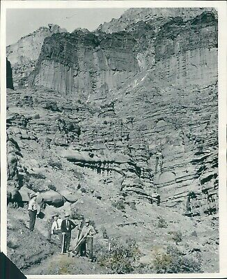 1950 Fisher Towers Rock Formation Utah Original News Service Photo - $19.99