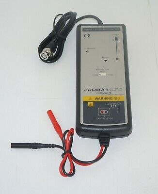 Yokogawa 700924 Differential Probe 1400v 100 Mhz Used