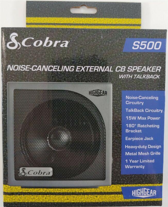 Cobra HG-S500 Highgear CB Radio External Speaker HGS500 NEW