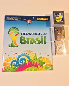 2014 World Cup Panini Sicker Album Set
