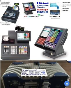 Cash register & MEV  (Technicien/ Programmeur depuis 1989 )