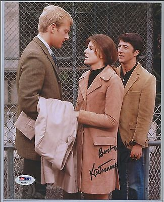 Katharine Ross Auto Autograph Signed 8X10 Photo Picture Psa Psa Dna