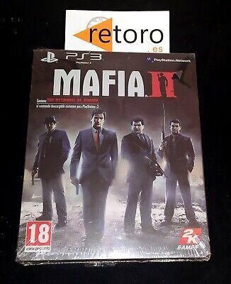 MAFIA 2 II SONY PLAYSTATION 3 PS3 PAL ESPAÑA EDICIÓN ESPECIAL STEELBOOK...