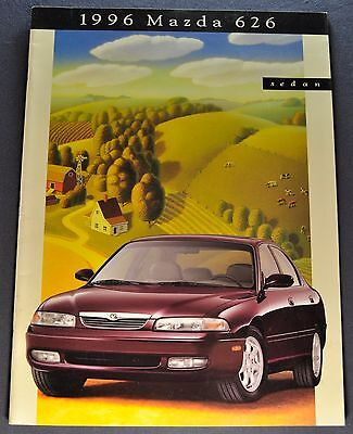 1996 Mazda 626 Sedan Catalog Sales Brochure Excellent Original 96