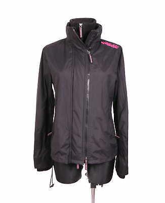 *Superdry Windcheater Womens Jacket Black size 38