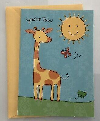 Happy 2nd Birthday Hallmark Greeting Card