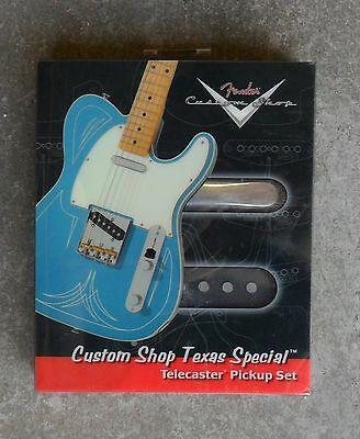 Brand New Fender Custom Shop Texas Special Telecaster Pickup Set Tele Pickups