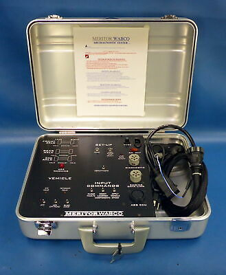 Meritor WABCO ABS Diagnostic Tester w/ Cables & Carry Case
