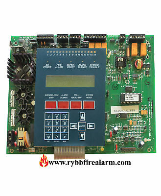 Fire-lite Ms-9200 Fire Alarm Control Panel Replacement Board Old Style