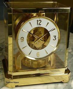 """SUPERBE PENDULE ATMOS VIII de 1977 Jaeger LeCoultre ( clock uhr ) - France - Commentaires du vendeur : """"ETAT IRREPROCHABLE, mécanique et fonctionnement parfaits. GARANTIE de 2 ANS sur le bon fonctionnement."""" - France"""