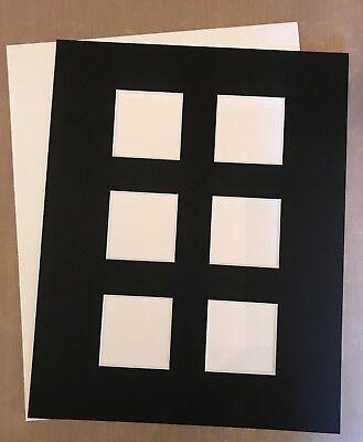 Black Bijou Tile Zentangle 8x10 Mat