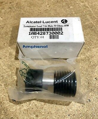 Amphenol Termination Load Din-male 50 Ohm 10w Alcatel-lucent Vzw Att