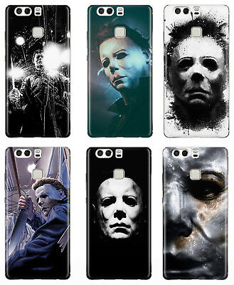 HALLOWEEN MYERS HORROR MOVIE RUBBER PLASTIC PHONE COVER CASE FOR HUAWEI (Horror Movies For Halloween)
