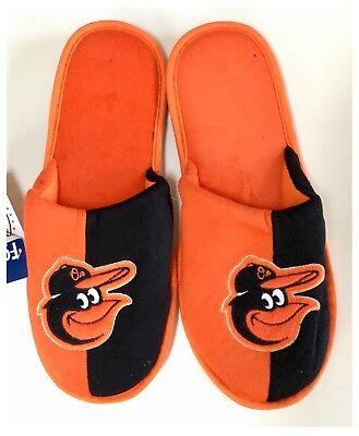 Baltimore Orioles MLB Baseball Dual Colour Slippers : Medium