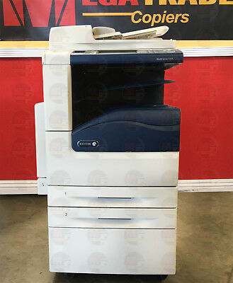 Xerox Workcentre 7225 Color Laser Copier Printer Scanner Multifunction 25 Ppm A3