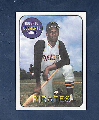 #18 ROBERTO CLEMENTE, Pirates (1986 SDP/Sports Design Products) Hall of Fame HOF