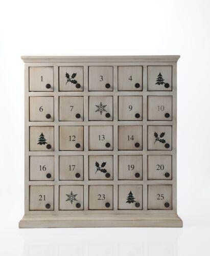 Advent Calendar From Restoration Hardware With Original Box – Antique White